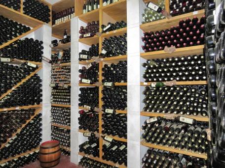The Cellar of Winery Adrija - Bosnia and Herzegovina - by Anika Mikkelson - Miss Maps - www.MissMaps.com