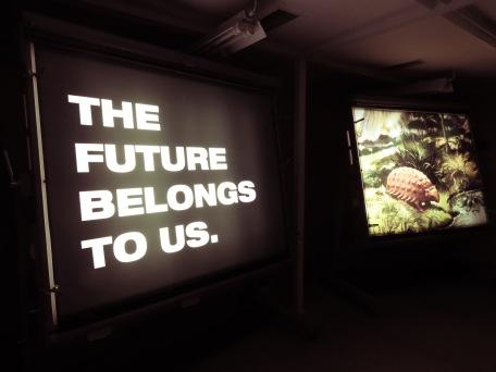 The Future Belongs to Us - Tito's Bunker - Konjic Bosnia and Herzegovina - by Anika Mikkelson - Miss Maps - www.MissMaps.com