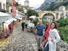 The remaining three in Mostar - Bosnia and Herzegovina - by Anika Mikkelson - Miss Maps - www.MissMaps.com