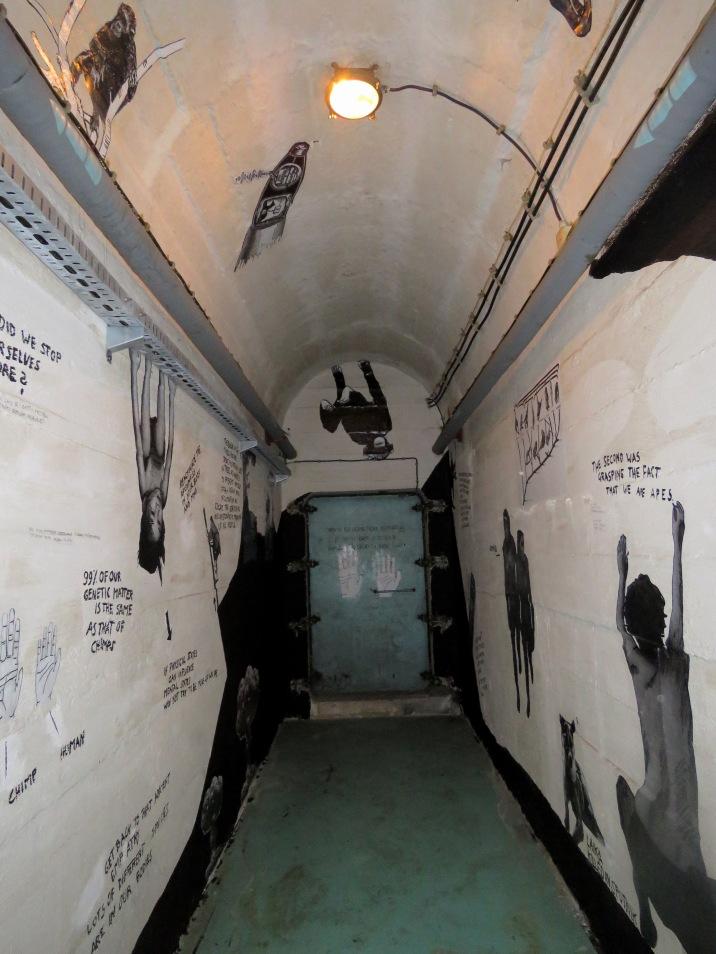 Tunnel of Art - Tito's Bunker - Konjic Bosnia and Herzegovina - by Anika Mikkelson - Miss Maps - www.MissMaps.com