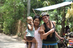 Visiting Local Communities In Myanmar - photo provided by Bianca - MissMaps.com Featured Female Traveler
