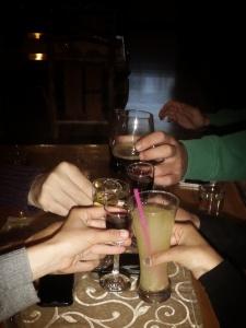 Welcome Drinks at Hajducke Vrleti Blidinje - by Anika Mikkelson - Miss Maps - www.MissMaps.com
