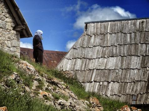 Woman in Waiting - Lukomir Bosnia and Herzegovina BiH - by Anika Mikkelson - Miss Maps - www.MissMaps.com