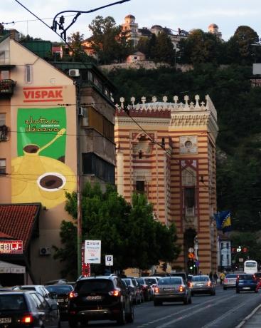 Zlatna Dzczva - Sarajevo BiH - by Anika Mikkelson - Miss Maps - www.MissMaps.com
