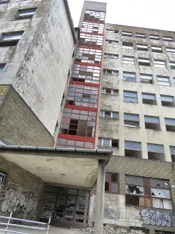 Abandoned building of Bratislava Slovakia - by Anika Mikkelson - Miss Maps - www.MissMaps.com