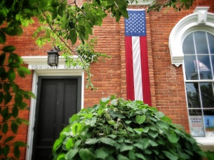 American Pride - Chagrin Falls Ohio - by Anika Mikkelson - Miss Maps - www.MissMaps.com