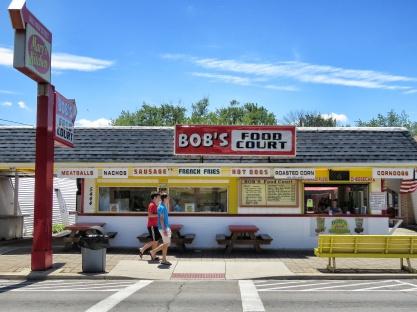 Bob's Food Court - Geneva on the Lake Ohio - by Anika Mikkelson - Miss Maps - www.MissMaps.com