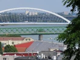 Bridges of Bratislava Slovakia - by Anika Mikkelson - Miss Maps - www.MissMaps.com