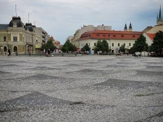Central Square - Nitra Slovakia - by Anika Mikkelson - Miss Maps - www.MissMaps.comCentral Square - Nitra Slovakia - by Anika Mikkelson - Miss Maps - www.MissMaps.com