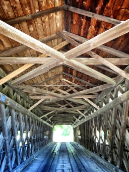 Covered Bridges of Ohio - From the Inside - by Anika Mikkelson - Miss Maps - www.MissMaps.com
