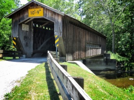 Covered Bridges of Ohio - Stop 2 - by Anika Mikkelson - Miss Maps - www.MissMaps.com