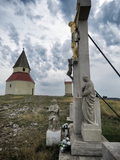Cross and Church on Nitra's Highest Point - Nitra Slovakia - by Anika Mikkelson - Miss Maps - www.MissMaps.com