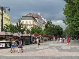 Downtown Bratislava Slovakia - by Anika Mikkelson - Miss Maps - www.MissMaps.com