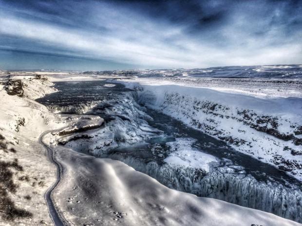 Gullfoss waterfall in Iceland- by Nicole Sunderland - MissMaps.com Featured Female Traveler