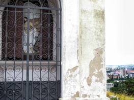 Inside one of the Chapels - Nitra Slovakia - by Anika Mikkelson - Miss Maps - www.MissMaps.com