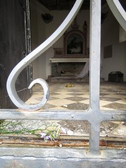 Inside the Hilltop Church - Nitra Slovakia - by Anika Mikkelson - Miss Maps - www.MissMaps.com