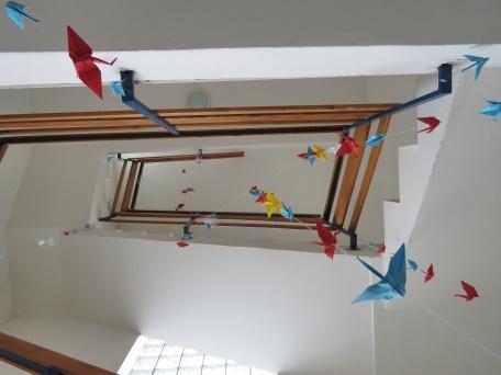 Look up - Nitra Glycerin Hostel - Nitra Slovakia - by Anika Mikkelson - Miss Maps - www.MissMaps.com