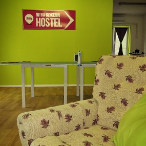 Nitra Glycerin Hostel's Second game room - Nitra Slovakia - by Anika Mikkelson - Miss Maps - www.MissMaps.com