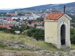 Nitra Slovakia from above - by Anika Mikkelson - Miss Maps - www.MissMaps.com