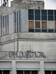 Posta - Nitra Slovakia - by Anika Mikkelson - Miss Maps - www.MissMaps.com