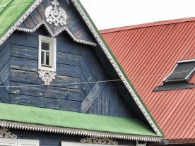 Roofs of Bialowieza Poland - by Anika Mikkelson - Miss Maps - www.MissMaps.com