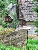 Shacks in Bialowieza Poland - by Anika Mikkelson - Miss Maps - www.MissMaps.com