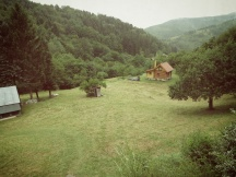The view from our cabin patio - Slovakia - by Anika Mikkelson - Miss Maps - www.MissMaps.com