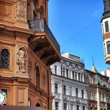Aim High - Riga's Old Town - Riga Latvia - by Anika Mikkelson - Miss Maps - www.MissMaps.com