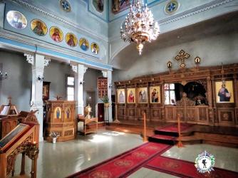 Alter of Immanuel Pentecostal Parish - Tallinn Estonia - by Anika Mikkelson - Miss Maps - www.MissMaps.com