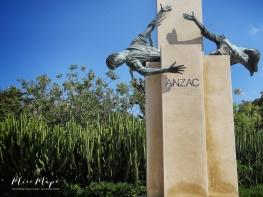 Anzac Memorial at Argotti Botanical Gardens - Malta - by Anika Mikkelson - Miss Maps - www.MissMaps.com
