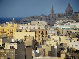 Basilica Our Lady of Mount Carmel and St. Paul's Pro-Cathedral - Malta - by Anika Mikkelson - Miss Maps - www.MissMaps.com