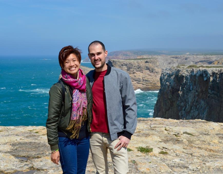 Cassandra and her boyfriend (Mario) in Algarve, Portugal - MissMaps.com Featured Female Traveler