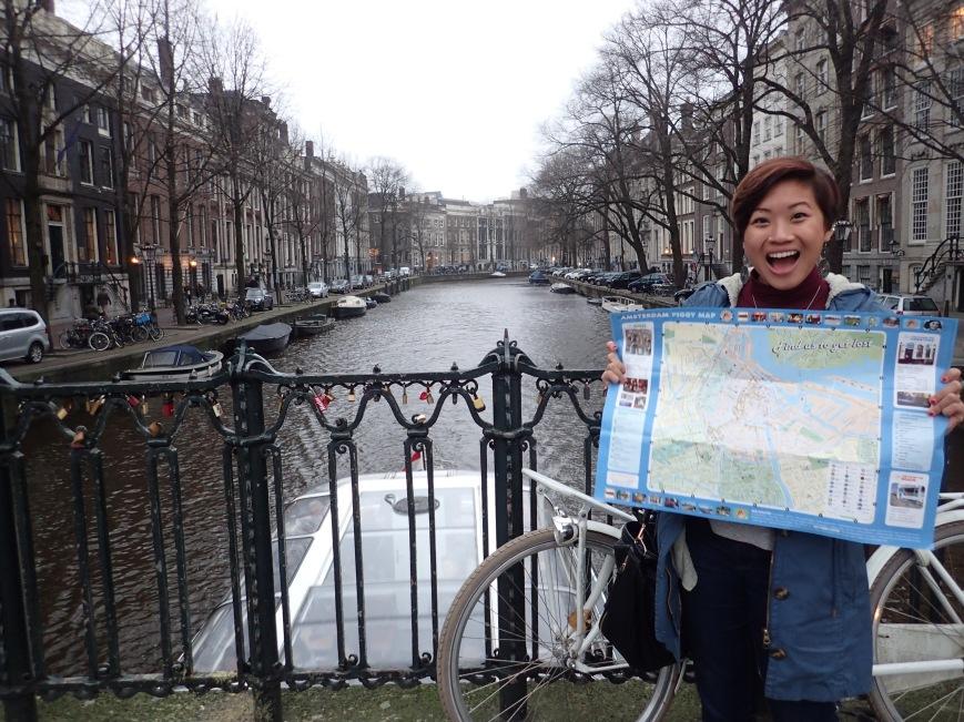 Cassandra in Amsterdam, Netherlands - MissMaps.com Featured Female Traveler