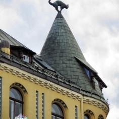 Cat Building - Riva Latvia - by Anika Mikkelson - Miss Maps - www.MissMaps.com