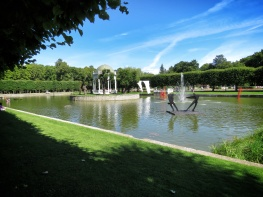 Central Garden and Sculpture Filled Gardens - Tallinn Estonia - by Anika Mikkelson - Miss Maps - www.MissMaps.com copy