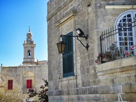 Church of Mdina - Malta - by Anika Mikkelson - Miss Maps - www.MissMaps.com copy