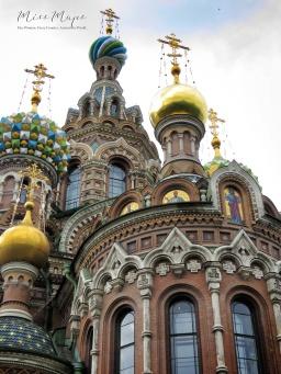 Church of Spilled Blood - St Petersburg Russia - June 2016