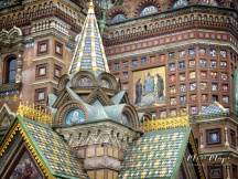 Church on Spilled Blood Close U - St Petersburg Russia - by Anika Mikkelson - Miss Maps - www.MissMaps.com
