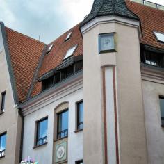 Clock Corners - Riga Latvia - by Anika Mikkelson - Miss Maps - www.MissMaps.com