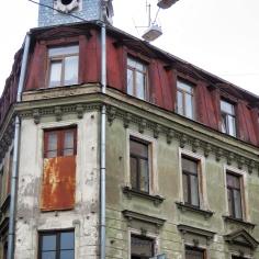 Colorful Corners - Riga Latvia - by Anika Mikkelson - Miss Maps - www.MissMaps.com