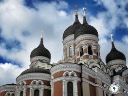 Dome Roof of the Orthodox Church - Tallinn Estonia - by Anika Mikkelson - Miss Maps - www.MissMaps.com