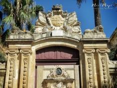 Doorway to nowhere - Mdina - Malta - by Anika Mikkelson - Miss Maps - www.MissMaps.com