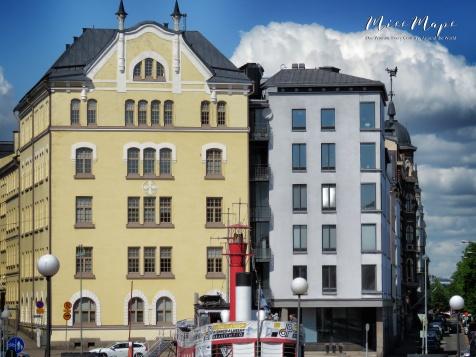 Downtown Flats - Helsinki Finland - by Anika Mikkelson - Miss Maps - www.MissMaps.com