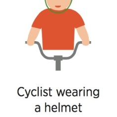 Helsinki Scavenger Hunt - Cyclist Wearing a Helmet - from VisitHelsinki.fl