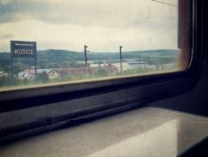 Kosice - On the Train to Ukraine - by Anika Mikkelson - Miss Maps - www.MissMaps.com
