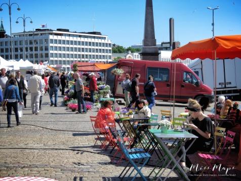 Market Square - Helsinki Finland - by Anika Mikkelson - Miss Maps - www.MissMaps.com