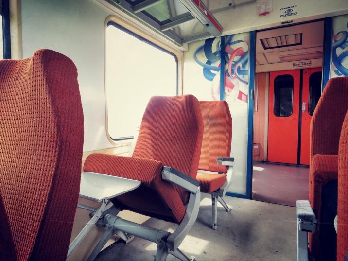Oh So Retro - On the Train to Ukraine - by Anika Mikkelson - Miss Maps - www.MissMaps.com