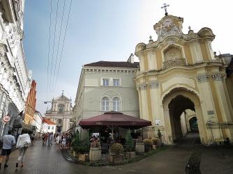 Old Town - Villnius Lithuania - by Anika Mikkelson - Miss Maps - www.MissMaps.com