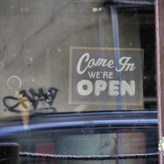 Open - But Closed - Riga Latvia - by Anika Mikkelson - Miss Maps - www.MissMaps.com