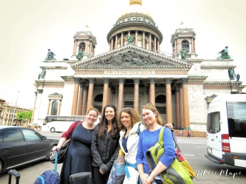 Our first steps in Russia - St Petersburg Russia - by Anika Mikkelson - Miss Maps - www.MissMaps.com
